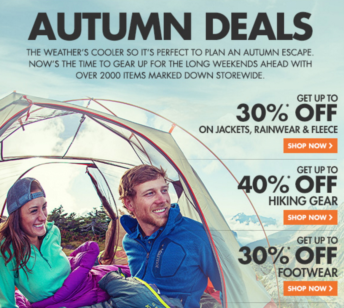 Wild Earth Autumn Deals