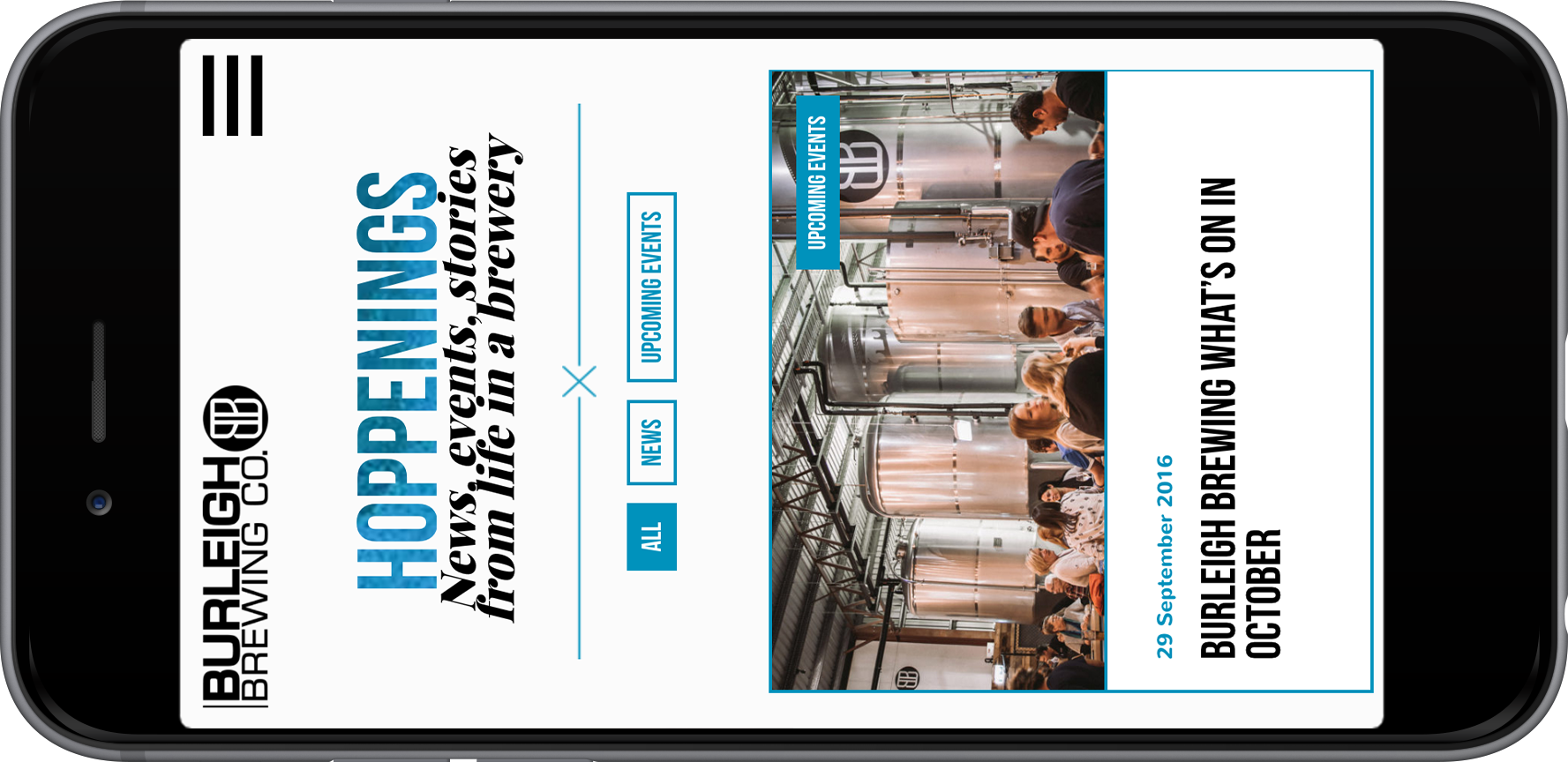 Burleigh Brewing - Website by Thirteen Digital